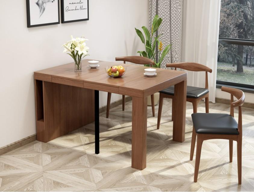 Bộ bàn ghế có thể xếp gọn lại khi sử dụng xong