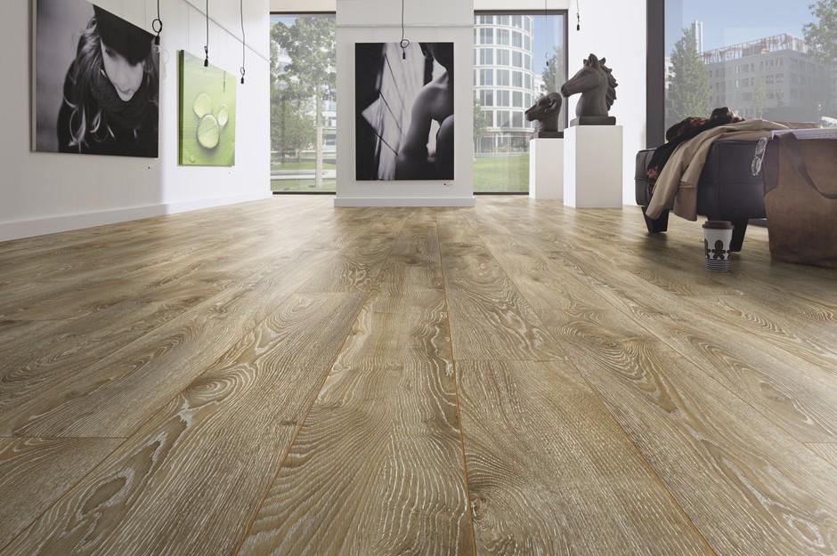 Sàn gỗ Laminate là loại vật liệu rất tiện dụng