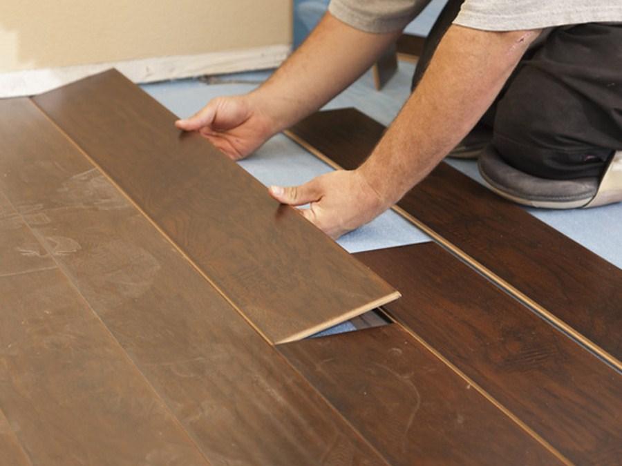 Tự lắp đặt sàn gỗ công nghiệp một cách nhanh chóng
