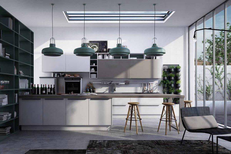 Phòng bếp được ví như trái tim của ngôi nhà