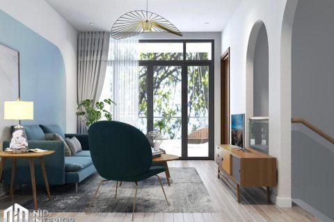 Thiết kế kiến trúc nội thất biệt thự phố 300m2