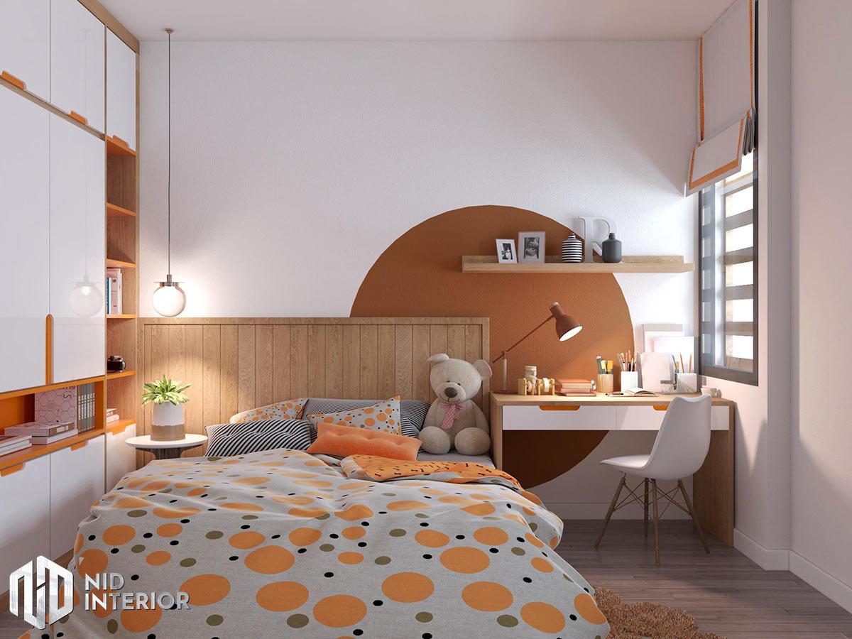 Thiết kế kiến trúc nội thất biệt thự phố 300m2 - Phòng ngủ 2