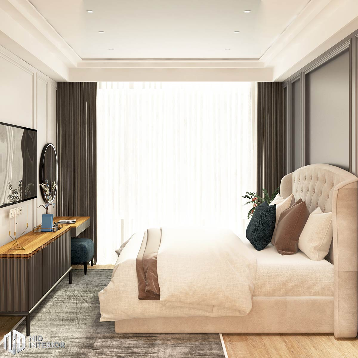 Căn hộ Vinhomes Grand Park 3 phòng ngủ - Phòng ngủ 1