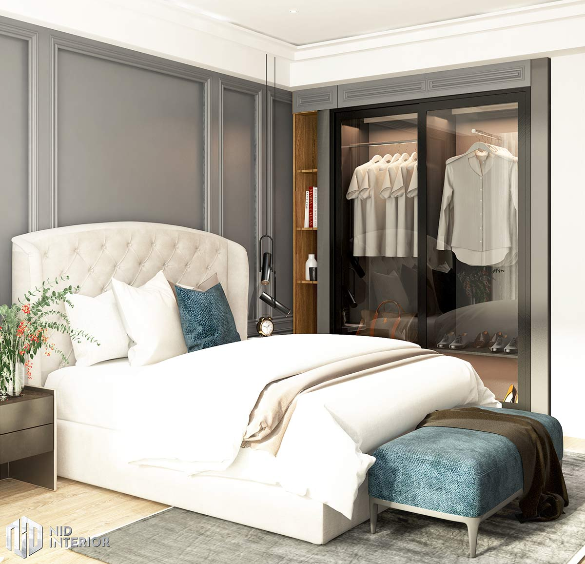 Căn hộ Vinhomes Grand Park 3 phòng ngủ - Phòng ngủ master