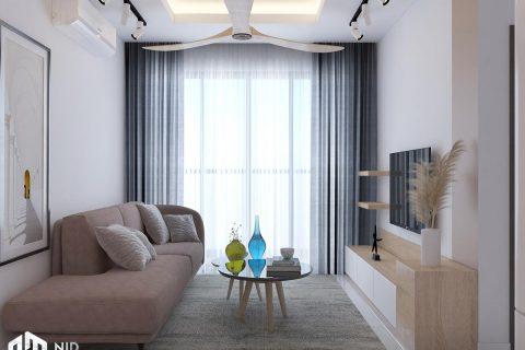 Thiết kế nội thất căn hộ Vinhomes Grand Park 53m2
