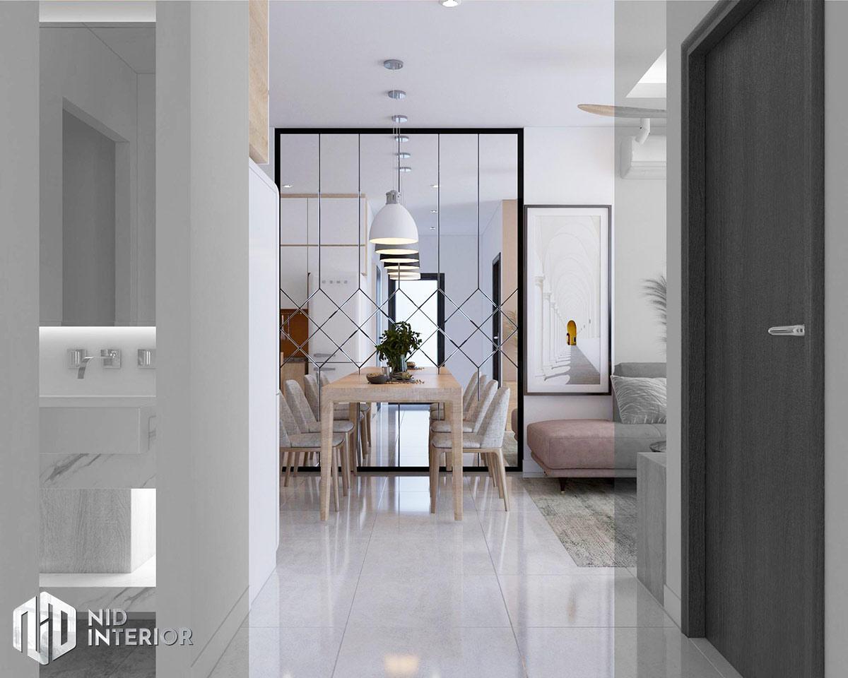 Thiết kế nội thất căn hộ Vinhomes Grand Park 53m2 - Bàn ăn