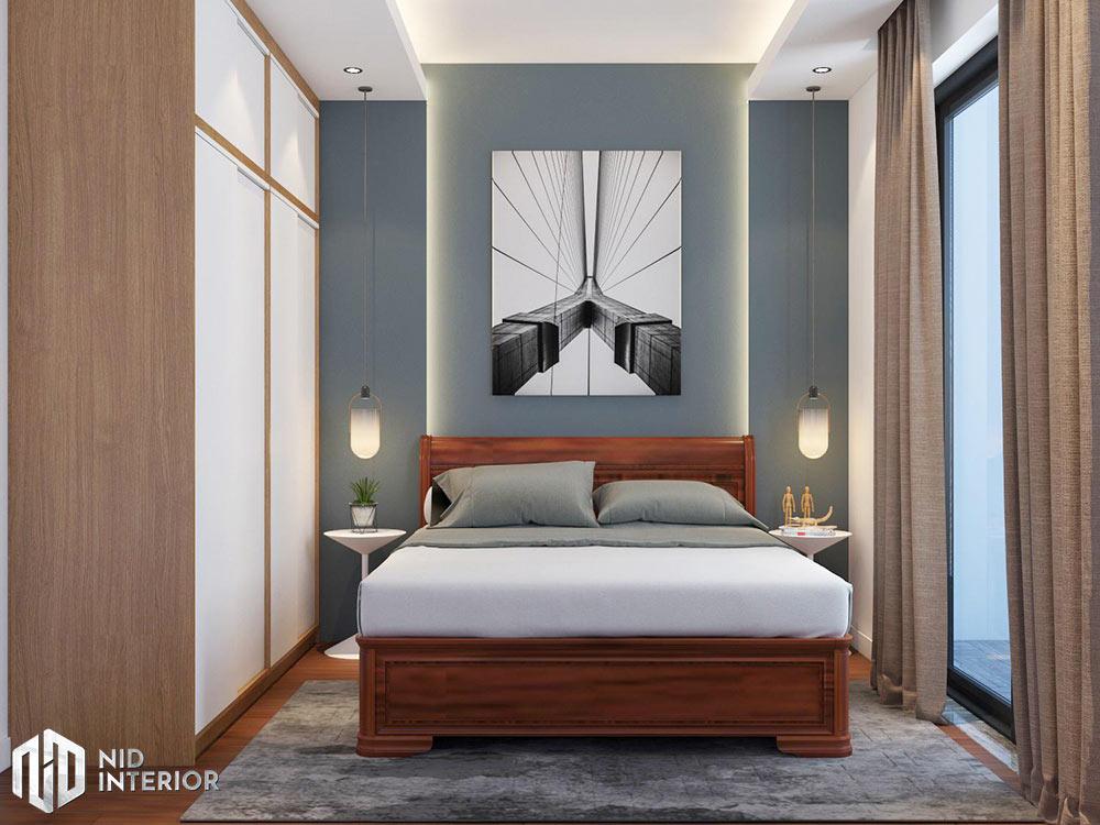 Thiết kế nội thất nhà phố Vũng Tàu 250m2 - Phòng ngủ con