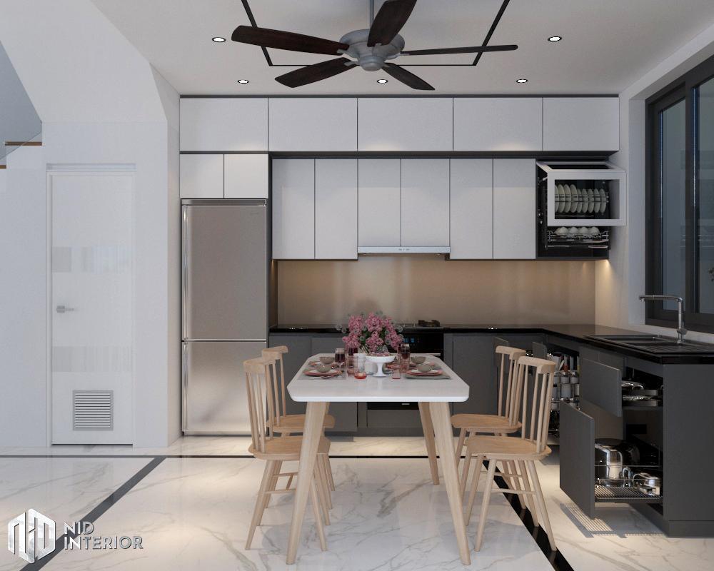 Thiết kế nội thất nhà phố Vũng Tàu 250m2 - Khu vực bếp