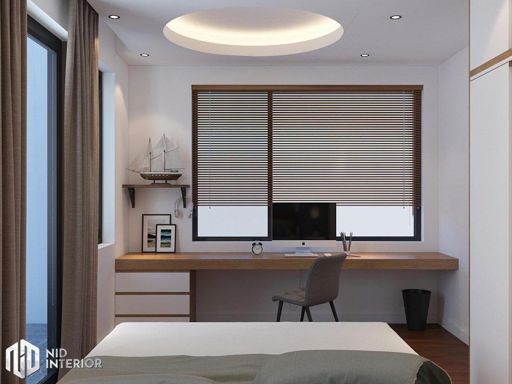 Thiết kế nội thất nhà phố Vũng Tàu 250m2 - Phòng ngủ master