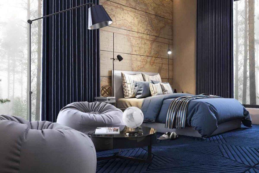 Phòng ngủ là không gian riêng tư trong mỗi ngôi nhà