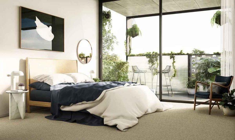 Nội thất này cũng có cách tiếp cận đơn giản, sử dụng các họa tiết tự nhiên