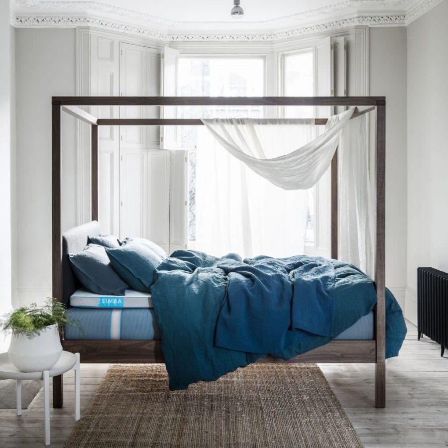 Ánh sáng tự nhiên góp phần quan trọng trong không gian phòng ngủ