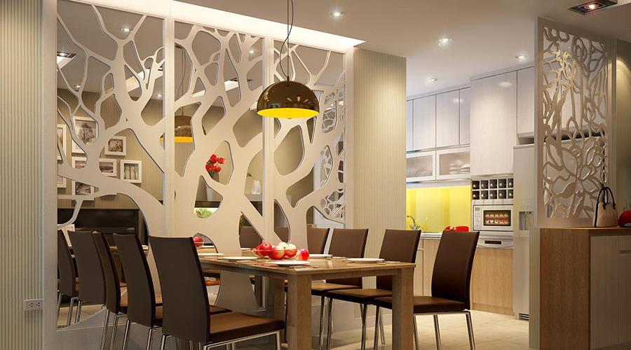 Vách ngăn CNC ra đời nhằm tăng nhu cầu thẩm mỹ của nhiều người trong thiết kế nội thất