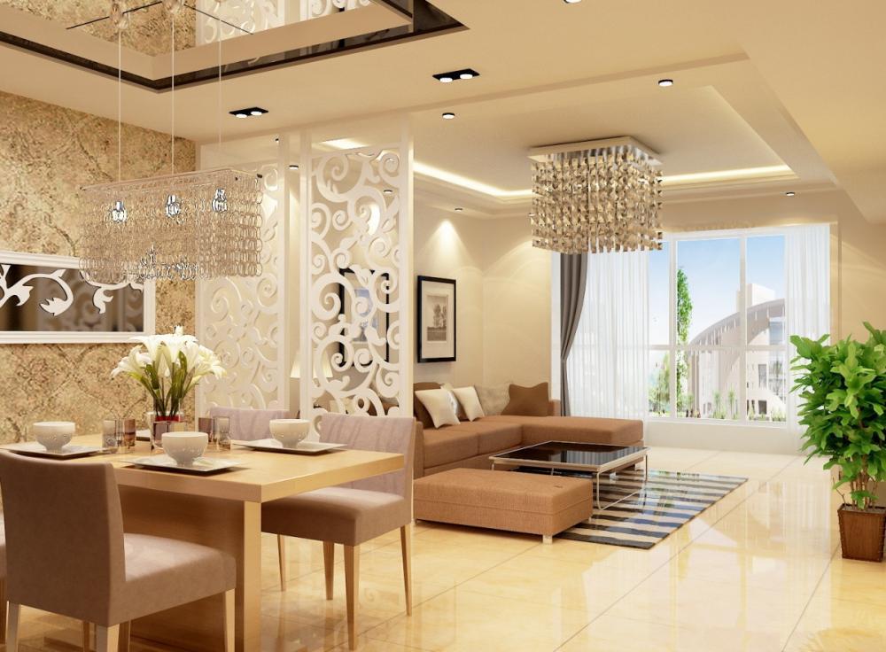 Vách ngăn giúp ngăn cách và trang trí không gian trong nhà