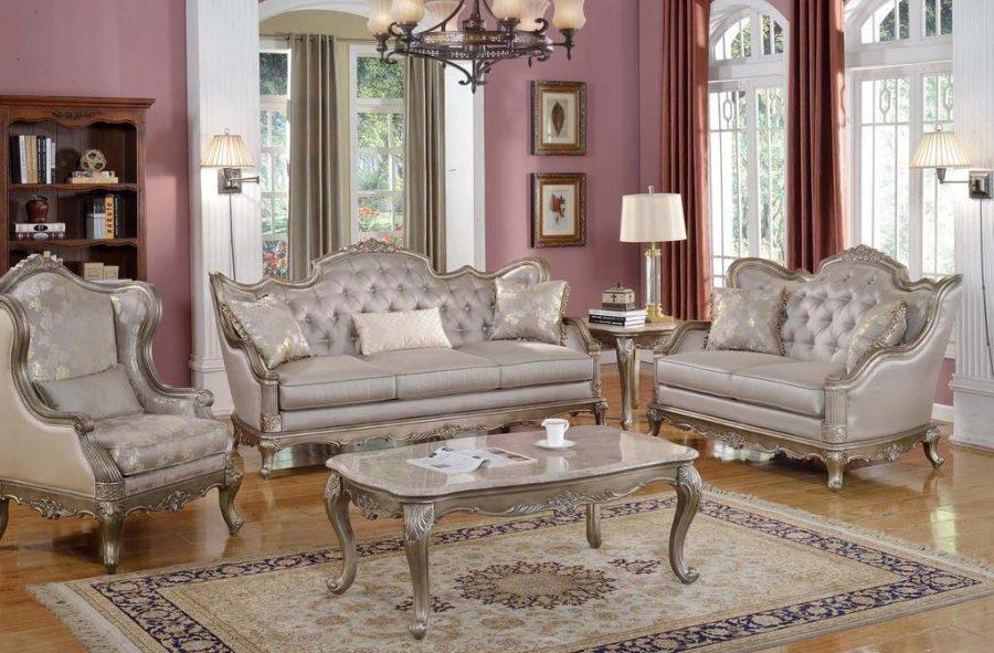 Màu sắc đóng vai trò là phông nền để làm nổi bật những món đồ nội thất