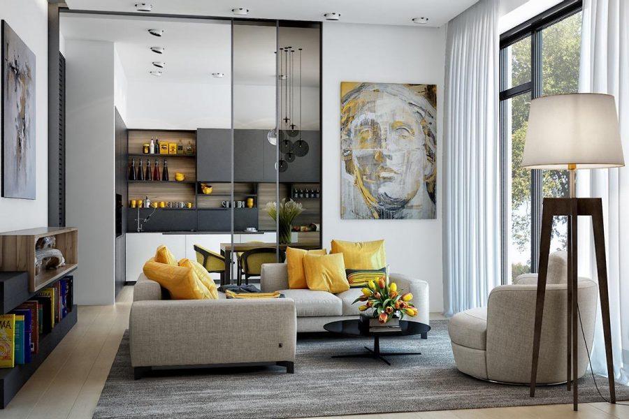 8 bí kíp giúp bạn thiết kế phòng khách hiện đại đẹp sang trọng