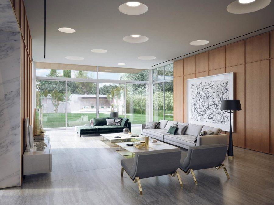 Ánh sáng tự nhiên là yếu tố quan trọng trong mọi phòng khách