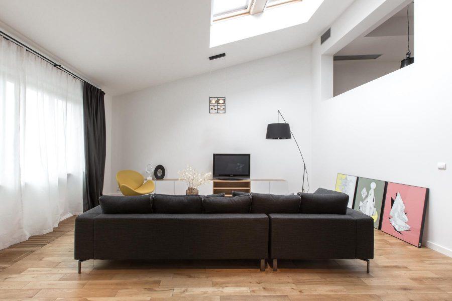 Phòng khách với không gian nhỏ