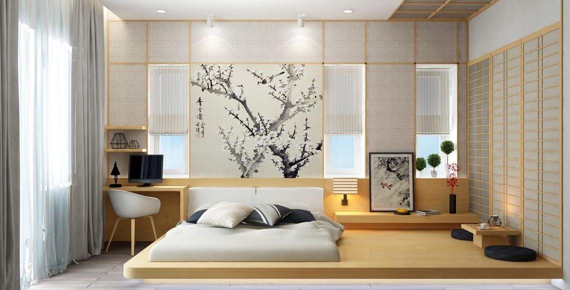 Phong cách trang trí truyền thống gắn liền với Nhật Bản