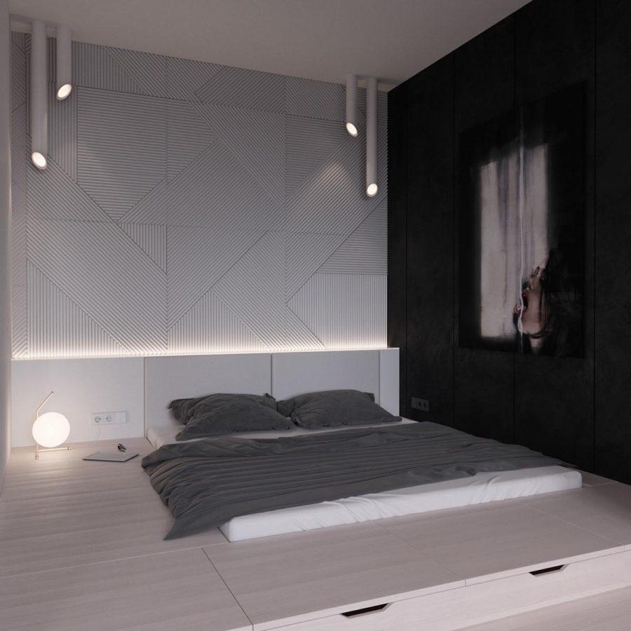 Greyscale cũng là một cách hiệu quả để đảm bảo căn phòng luôn giữ được sự đơn giản