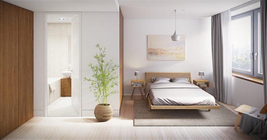 Nên đảm bảo đồ nội thất có cùng tông màu với không gian trong phòng ngủ nhà bạn