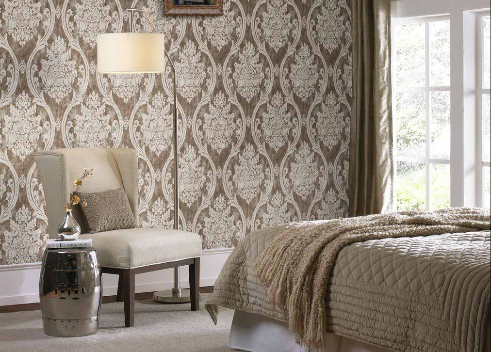 Thiết kế tường đồng bộ với đồ nội thất trong nhà
