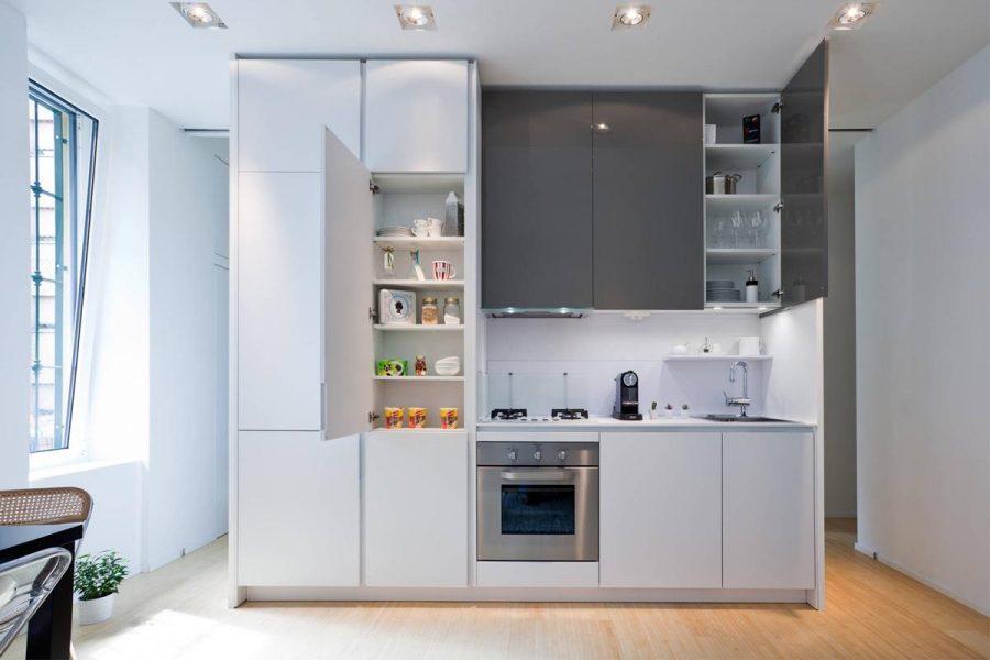 Tủ cao thường không phổ biến bằng nhiều loại tủ bếp khác
