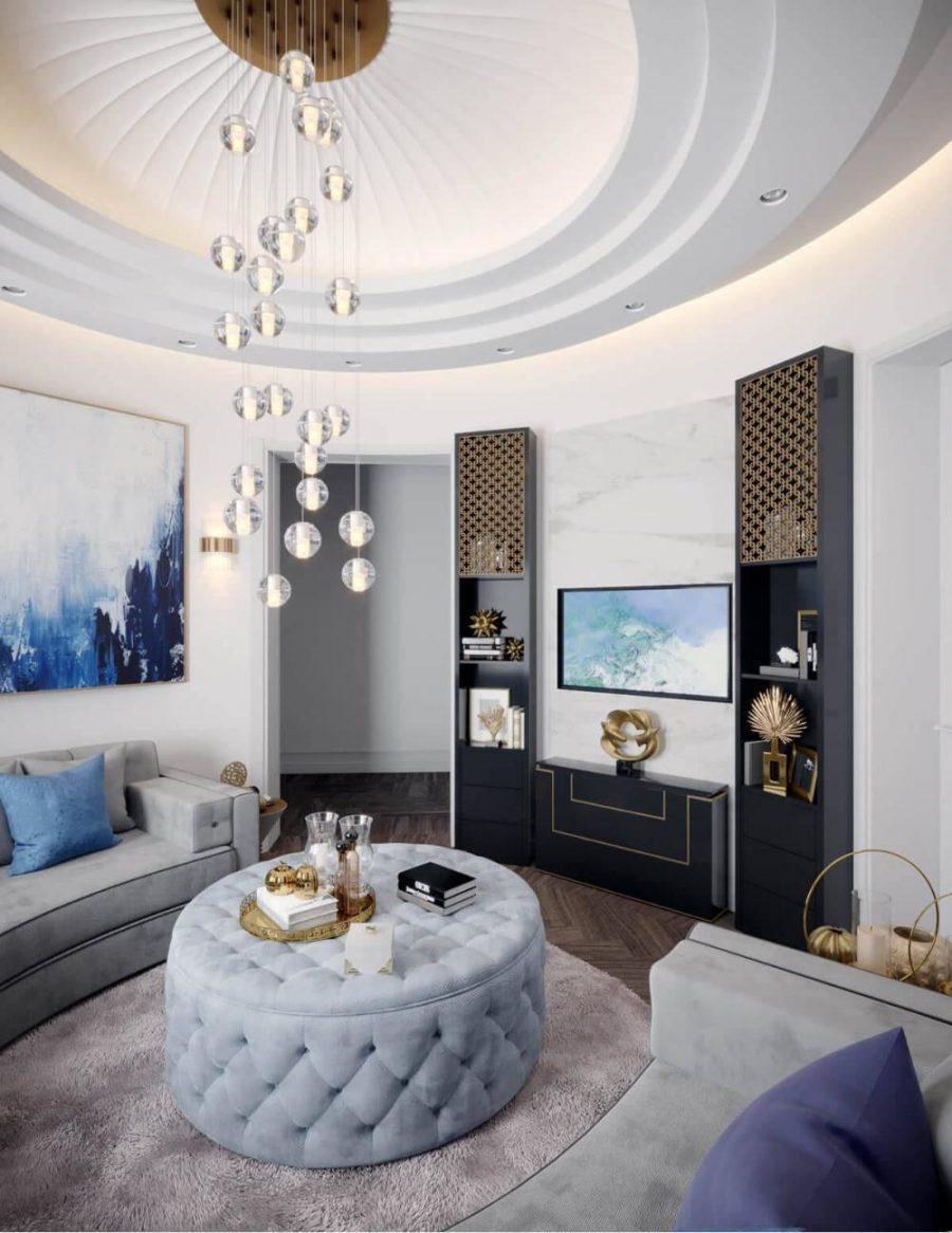 Việc lựa chọn nội thất là một công đoạn cực kỳ quan trọng đối với phòng khách tân cổ điển