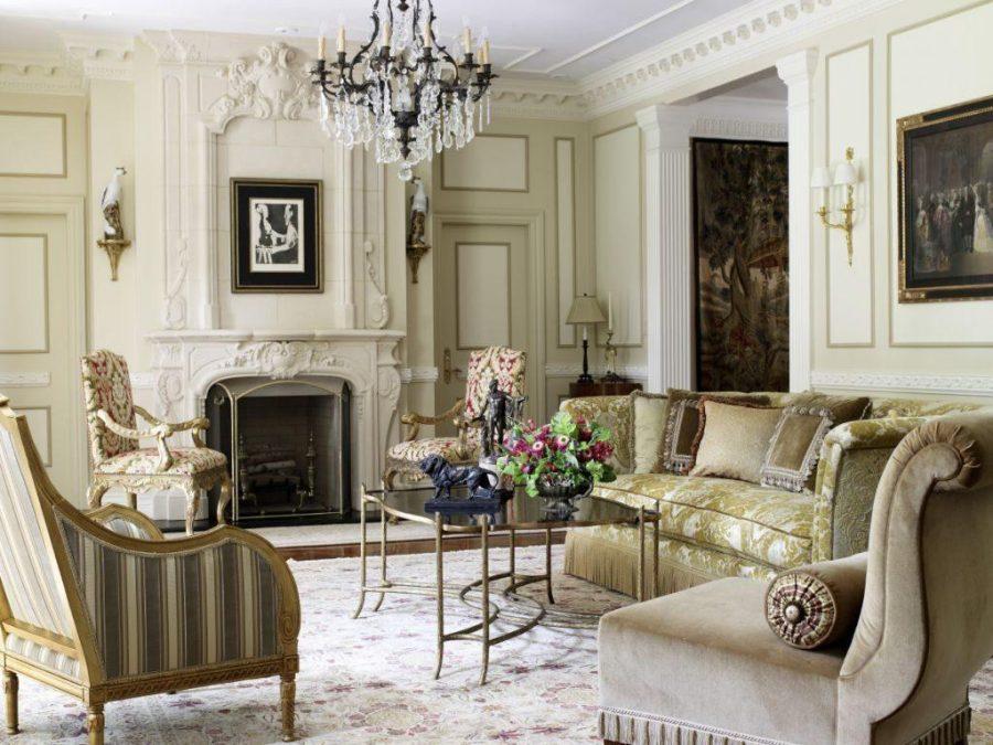 Điểm nhấn của căn phòng khách này chính là bộ sofa