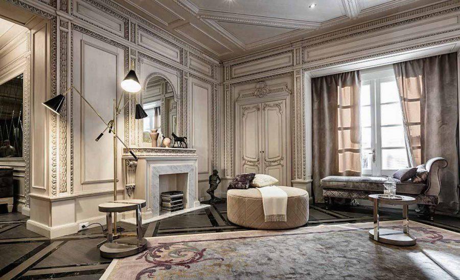 Phòng khách đầy tính nghệ thuật và lãng mạn