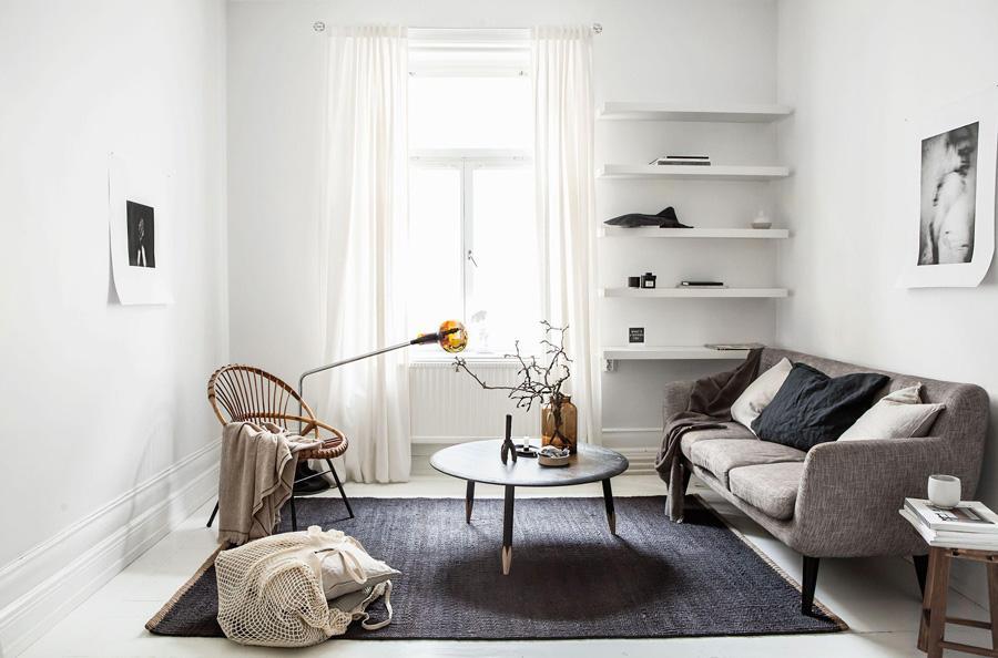 Phòng khách tối giản được nhiều người ưa chuộng hiện nay