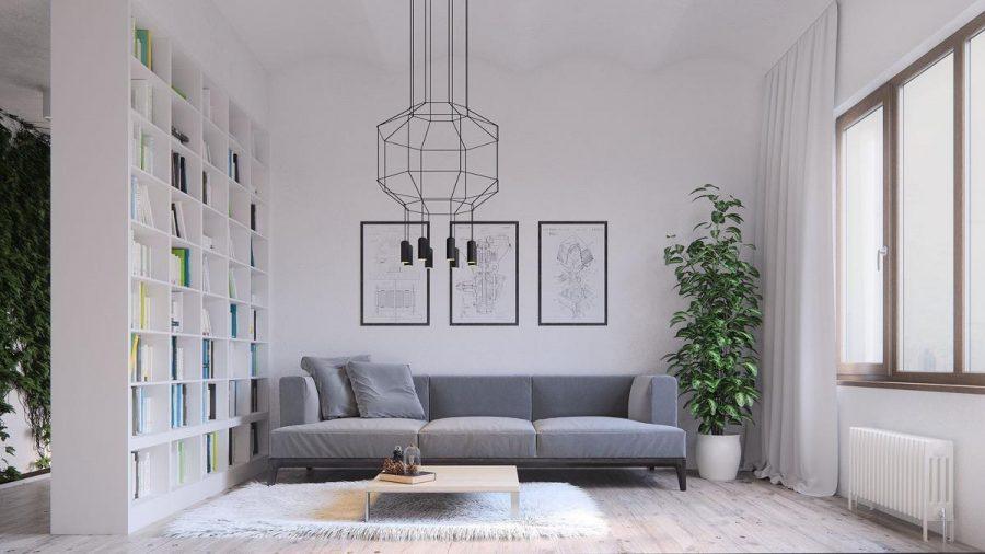 Đặt cây xanh trong nhà để không gian thêm tươi mới