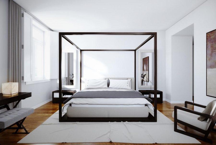 Đơn giản hóa mọi thứ giúp phòng ngủ trở nên gọn gàng hơn