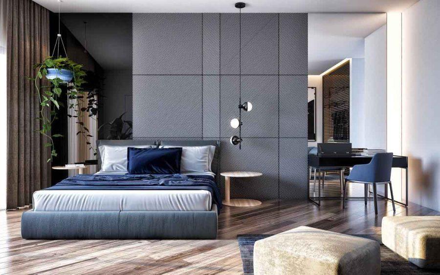 Màu xanh là một màu thanh bình và nhẹ nhàng, có thể giúp thúc đẩy sự thư giãn và dễ ngủ