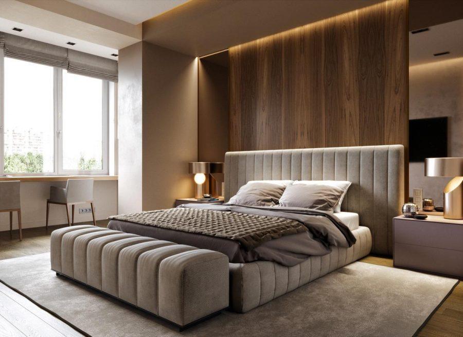 Bộ đôi đèn bàn có thiết kế sang trọng phù hợp với không gian phòng ngủ