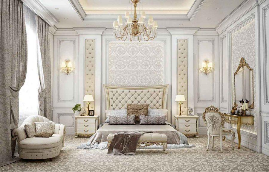 Sang trọng và tinh tế với những món đồ nội thất bọc vàng bên ngoài