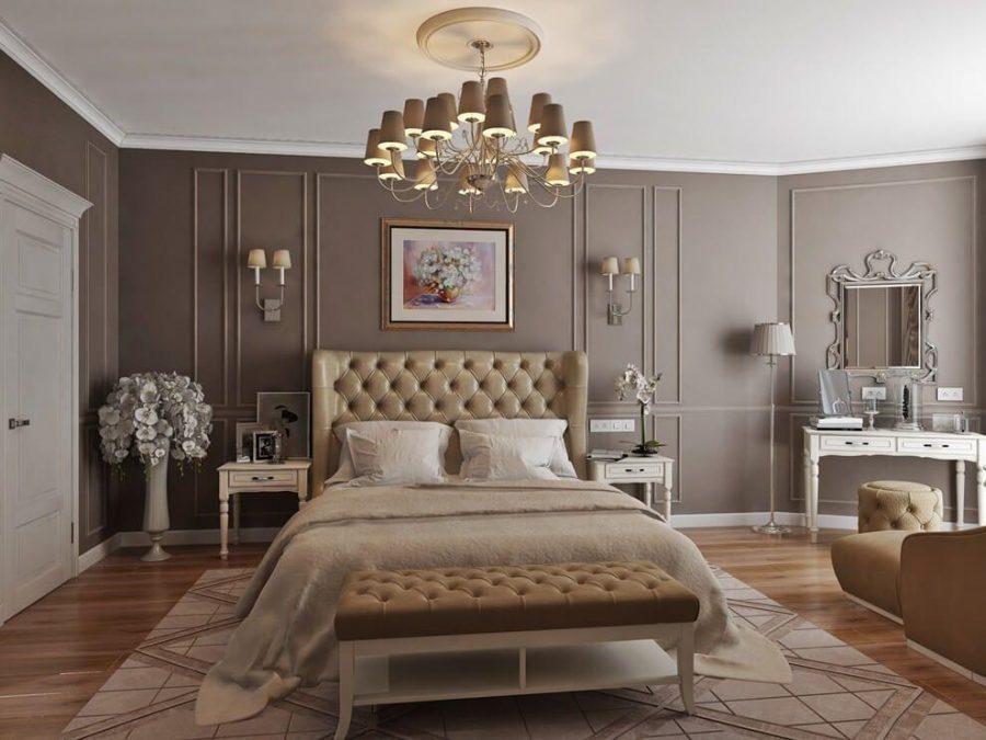 Một trong những vật dụng không thể thiếu đối với nội thất phòng ngủ tân cổ điển đó chính là thảm trải sàn