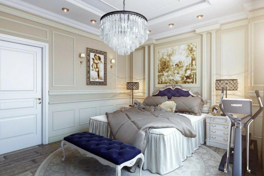 Tranh treo tường đầy tính nghệ thuật được trang trí trong phòng