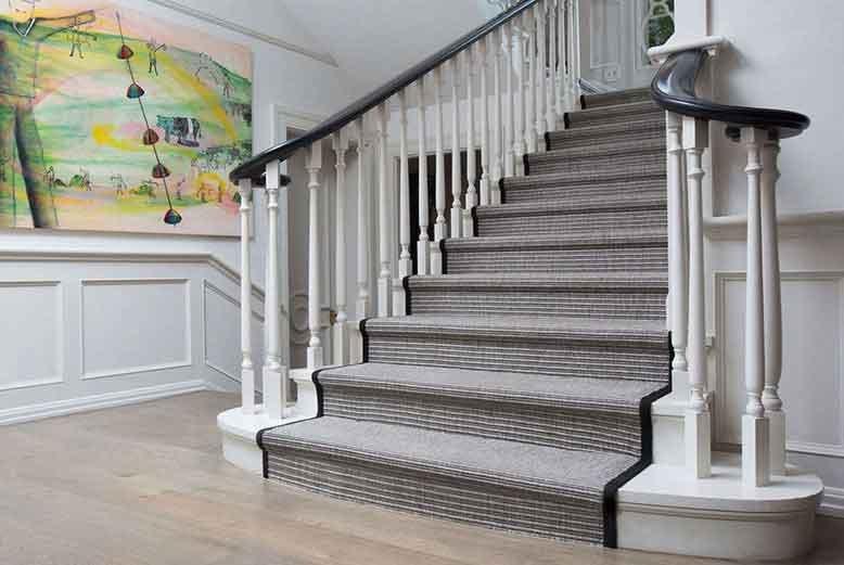 Chọn thảm cầu thang sao cho hợp lý nhất và chống trơn trượt