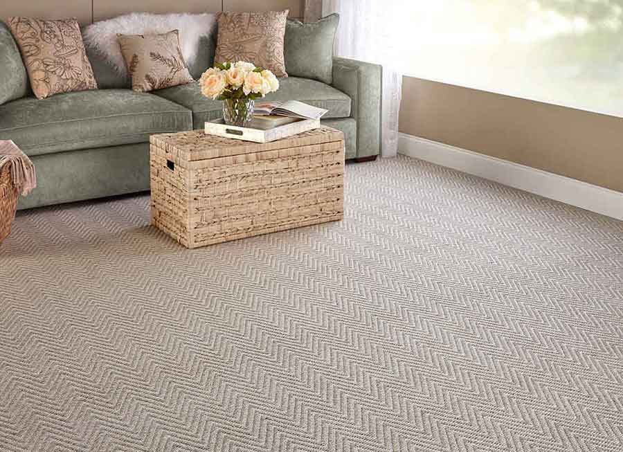 Thảm trải sàn cũng cần dựa vào một lớp đệm lót để hỗ trợ, chịu lực