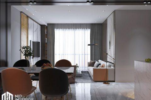 Thiết kế nội thất căn hộ The Grande Midtown Phú Mỹ Hưng