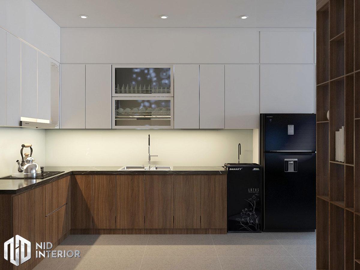 Thiết kế nội thất căn hộ Opal Saigon Pearl - Khu bếp
