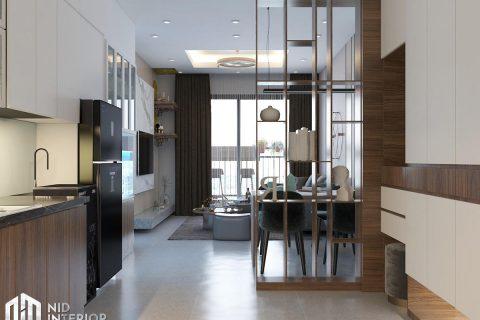 Thiết kế nội thất căn hộ Opal Saigon Pearl 86m2