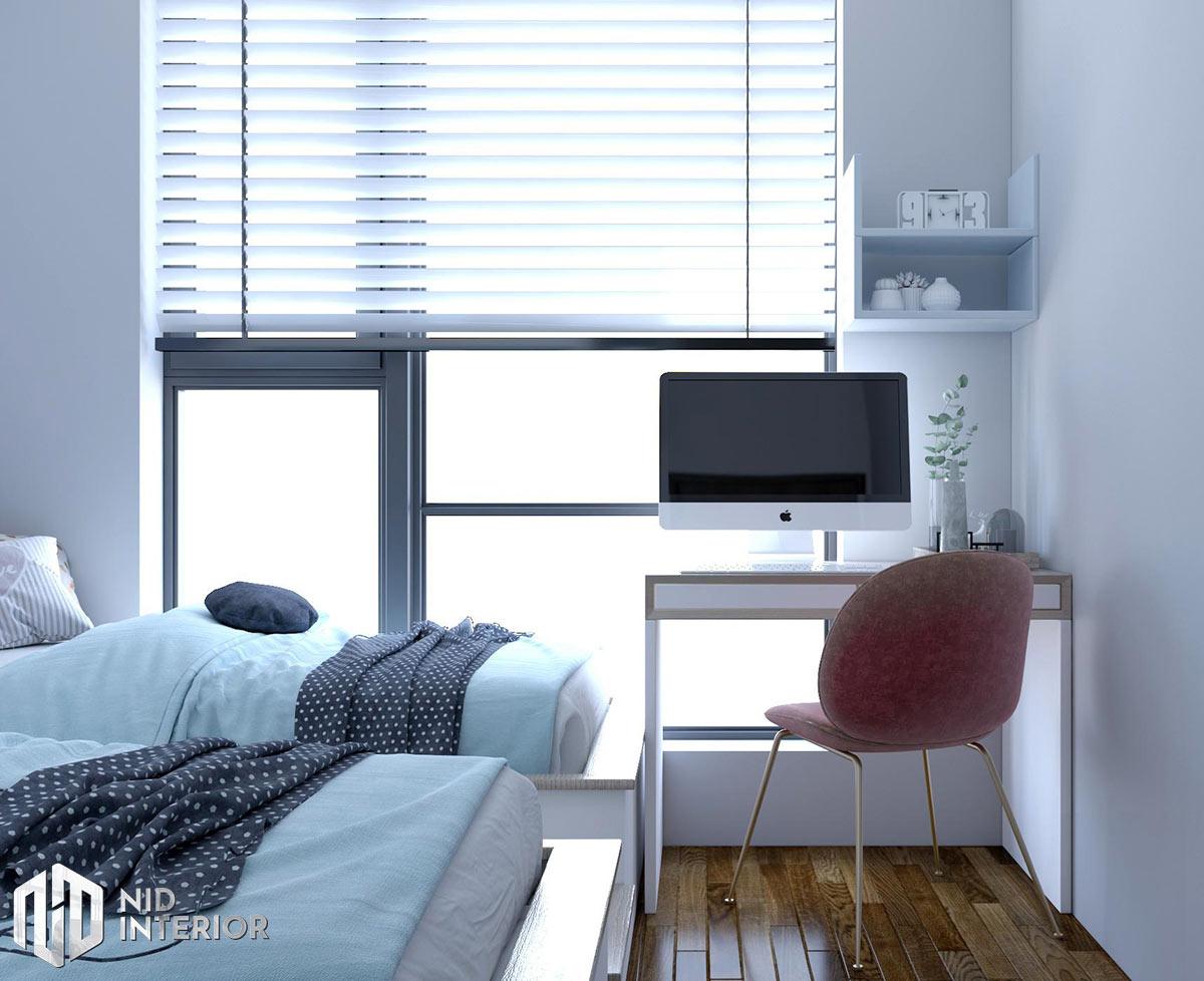 Thiết kế nội thất căn hộ Opal Saigon Pearl - Bàn học