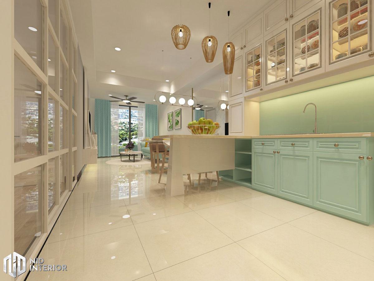 Thiết kế nội thất căn hộ Saigon South Residences - Bếp