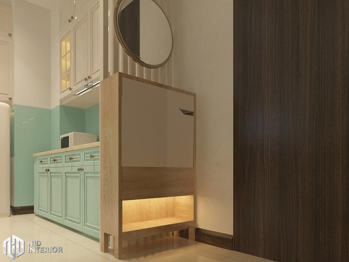 Thiết kế nội thất căn hộ Saigon South Residences - Tủ giày