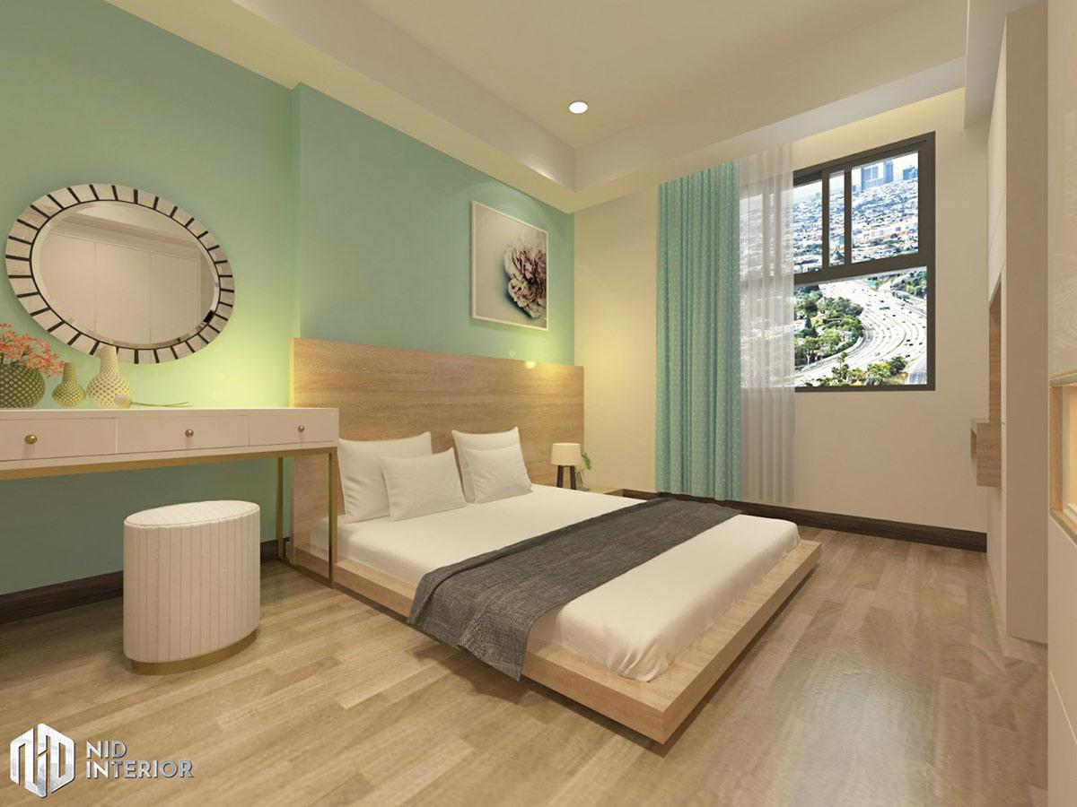 Thiết kế nội thất căn hộ Saigon South Residences - Phòng ngủ