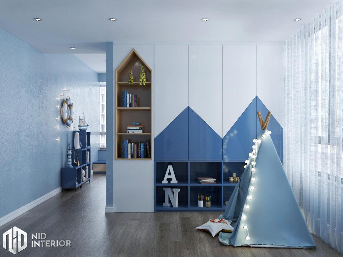 Thiết kế nội thất căn hộ Sunrise City South Towers - Phòng ngủ 4
