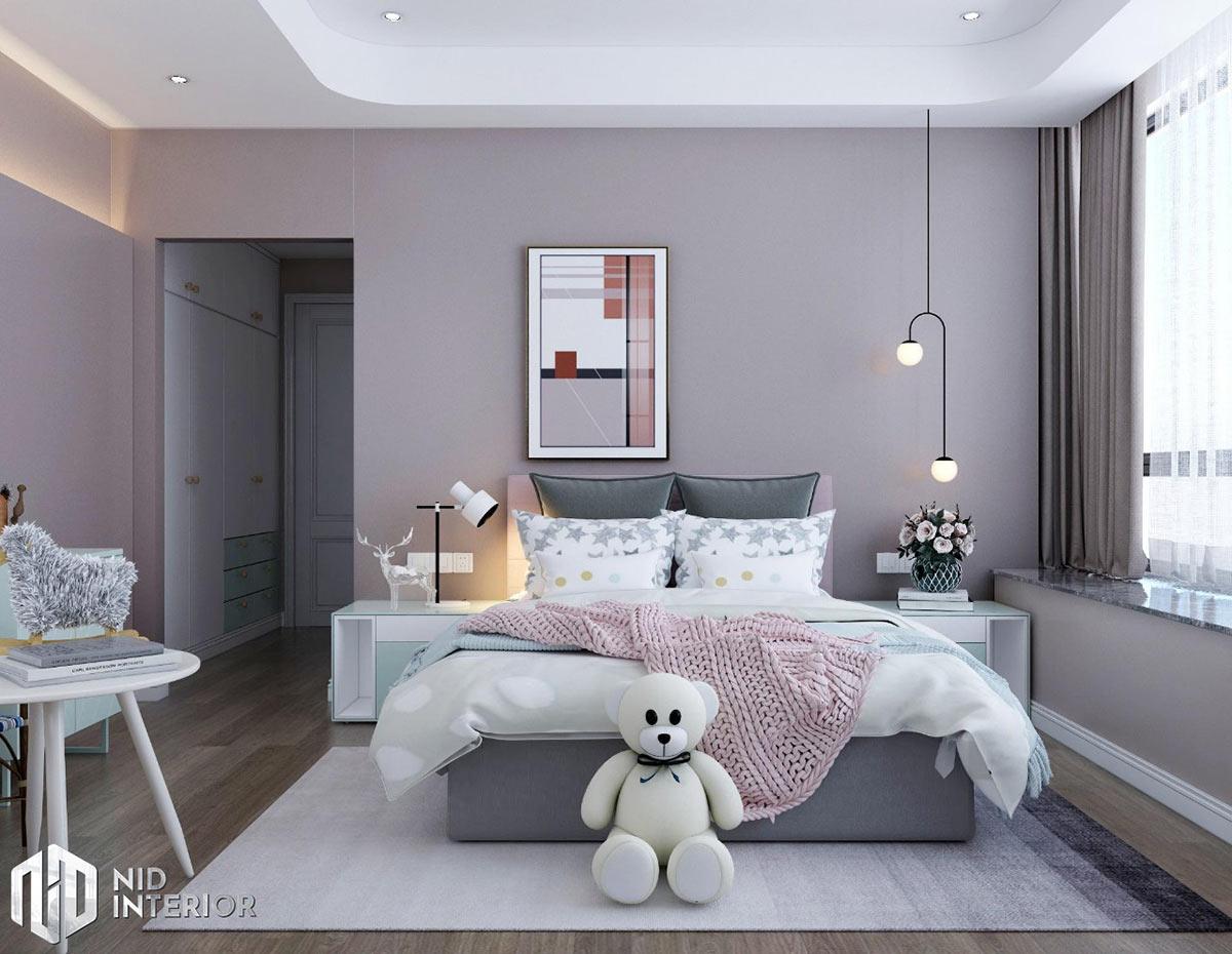 Thiết kế nội thất căn hộ Sunrise City South Towers - Phòng ngủ 2