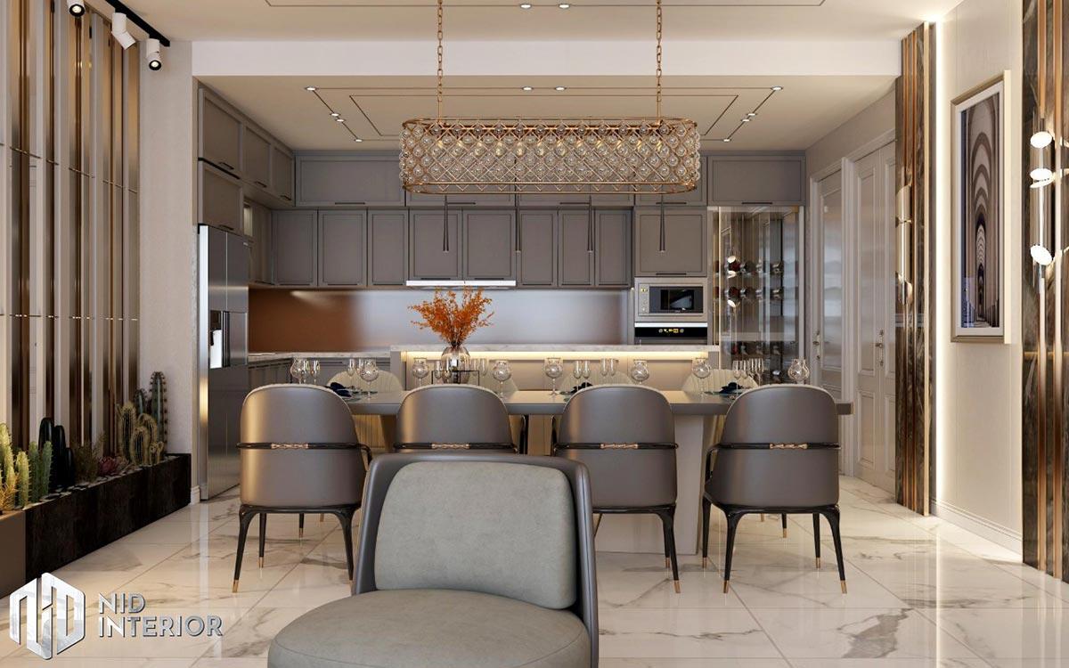 Thiết kế nội thất căn hộ Sunrise City South Towers - Bếp